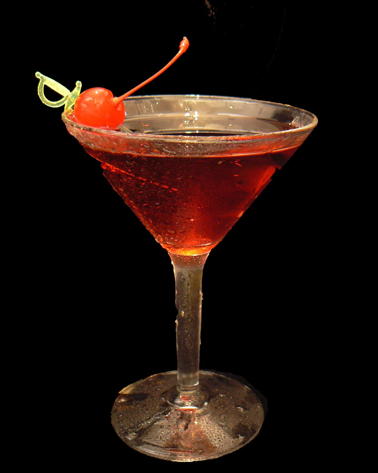 Manhattan koktel recept